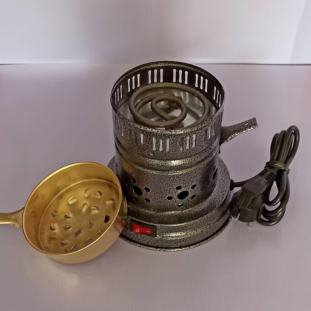 ذغال سرخ کن برقی مدل گلدن01