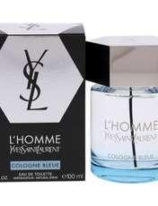 ادو تویلت مردانه ایو سن لوران مدل L'Homme Cologne Bleue حجم 100 میلی لیتر -  - 1