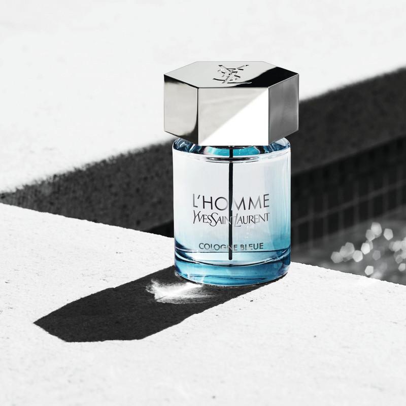 ادو تویلت مردانه ایو سن لوران مدل L'Homme Cologne Bleue حجم 100 میلی لیتر