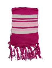 ست کلاه و شال گردن بافتنی دخترانه مدل خرسی کد 1023 -  - 2