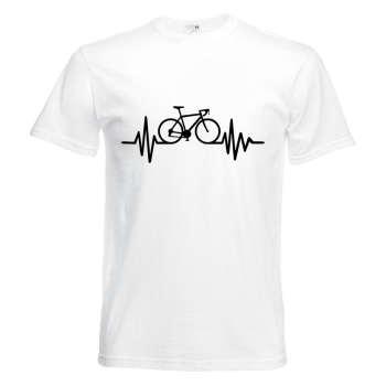 تیشرت آستین کوتاه   بچگانه  طرح ضربان دوچرخه      کد   KT0119