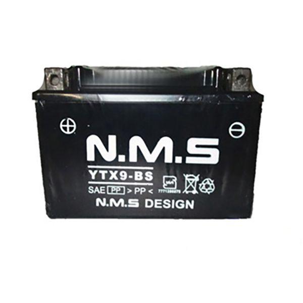 باتری موتور سیکلت ان ام اس مدل YTX9-BS