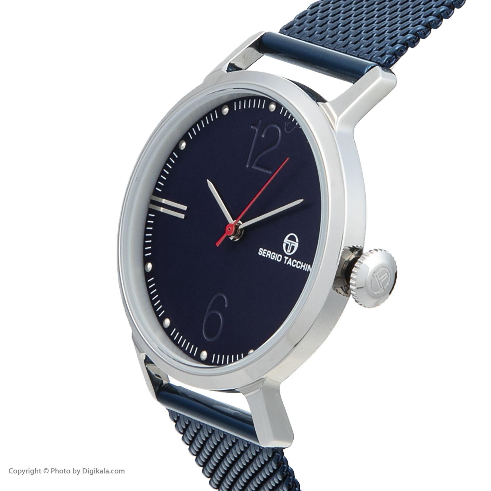 ساعت مچی عقربه ای مردانه سرجیو تاچینی مدل ST.9.119.05 -  - 2