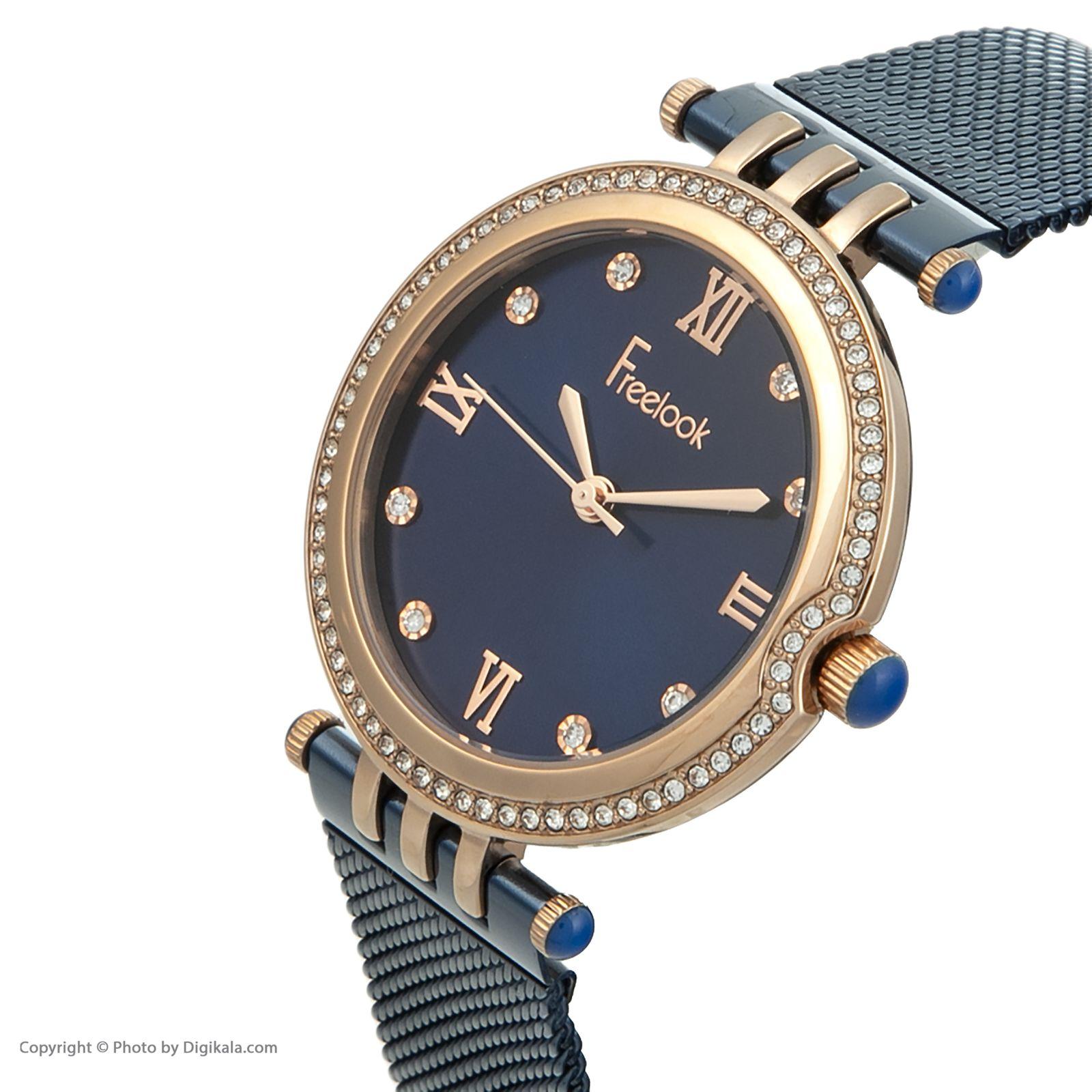ساعت مچی عقربه ای زنانه فری لوک مدل F.7.1060.06 -  - 3