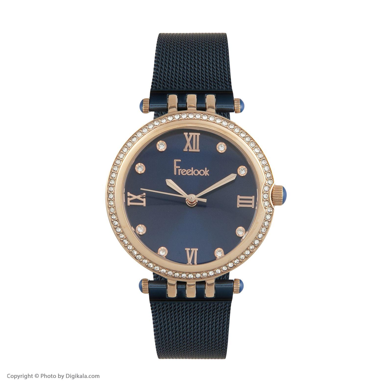 ساعت مچی عقربه ای زنانه فری لوک مدل F.7.1060.06 -  - 1