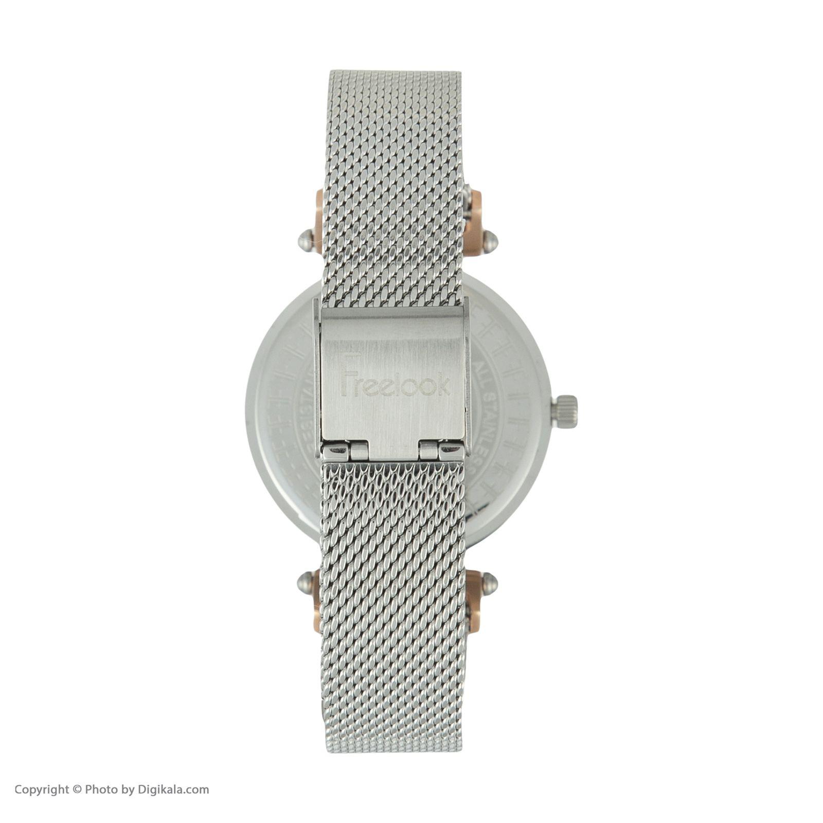 ساعت مچی عقربه ای زنانه فری لوک مدل F.8.1092.02 -  - 2