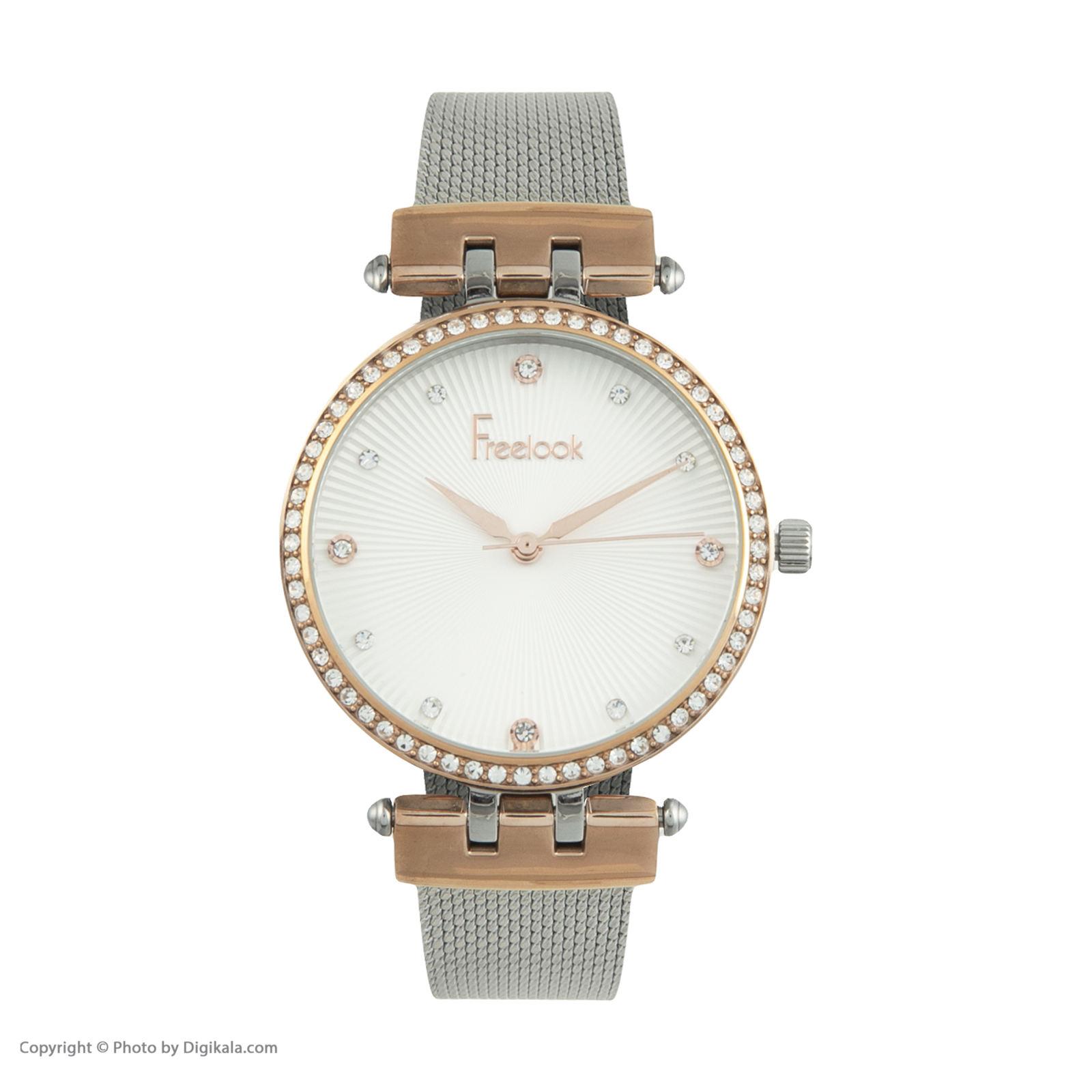 ساعت مچی عقربه ای زنانه فری لوک مدل F.8.1092.02 -  - 1