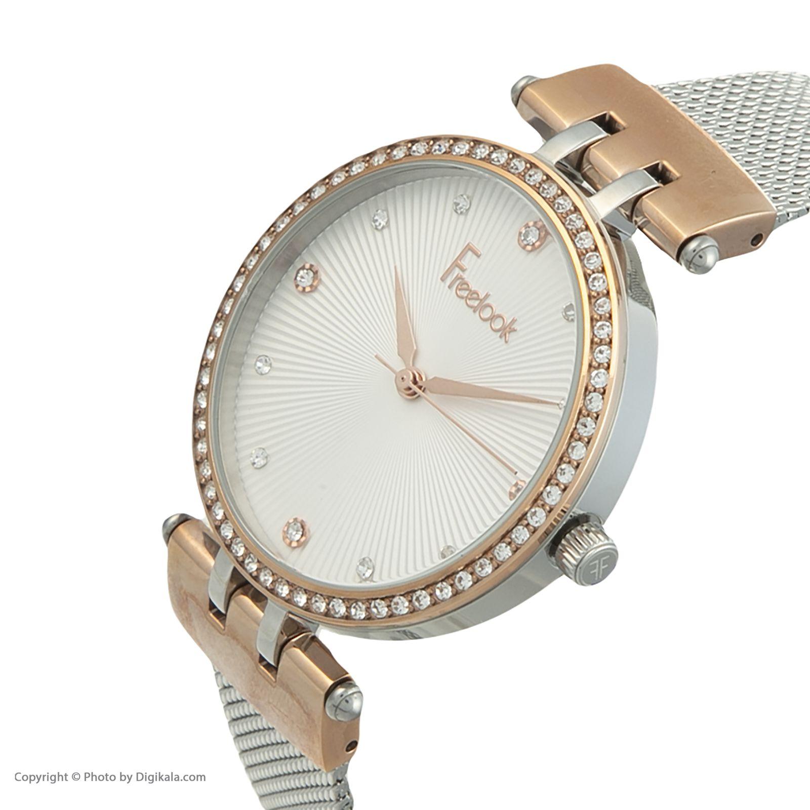 ساعت مچی عقربه ای زنانه فری لوک مدل F.8.1092.02 -  - 4