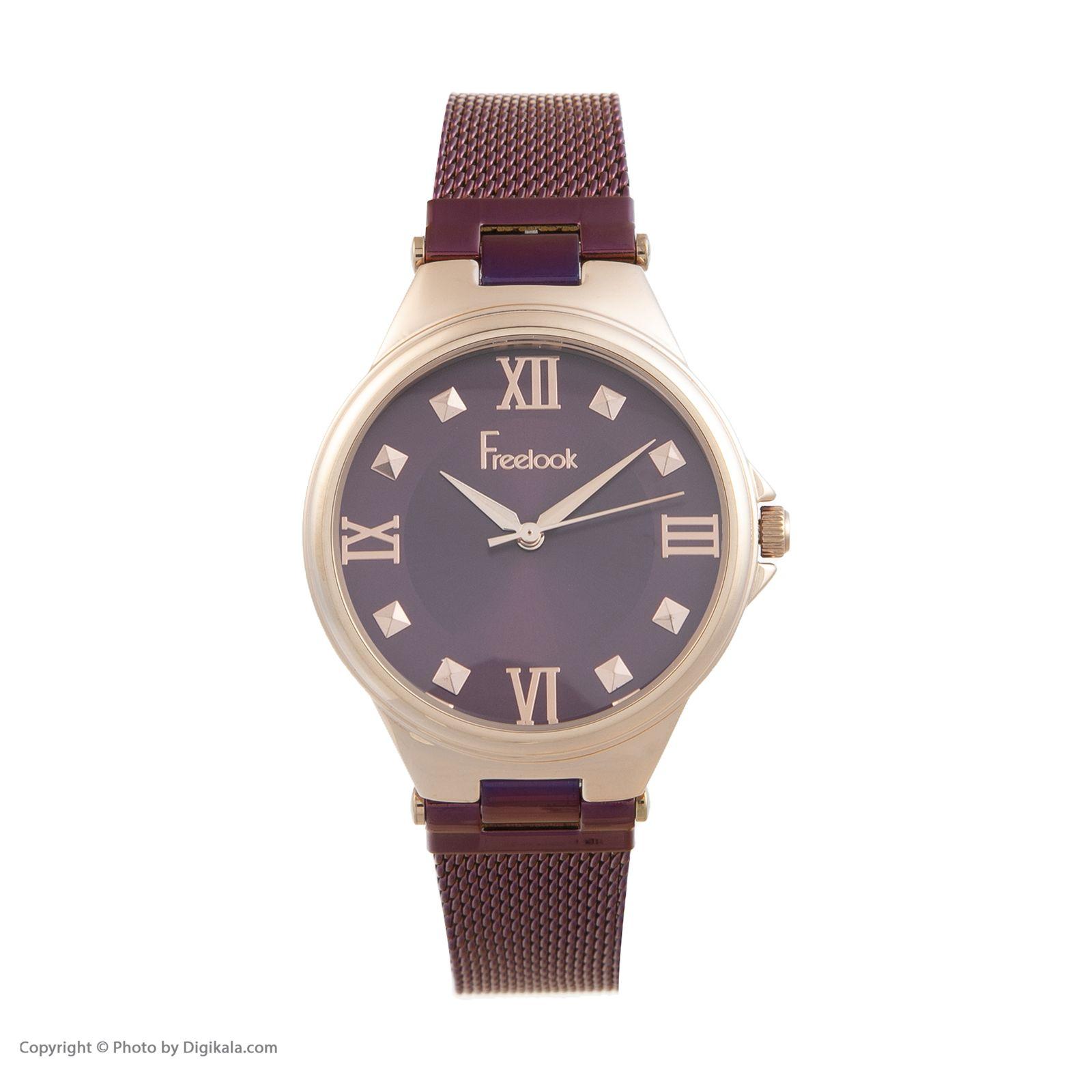 ساعت مچی عقربه ای زنانه فری لوک مدل F.7.1054.07 -  - 1