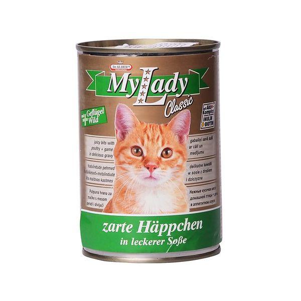 کنسرو غذای گربه دکتر آلدرز کد 020 وزن 415 گرم