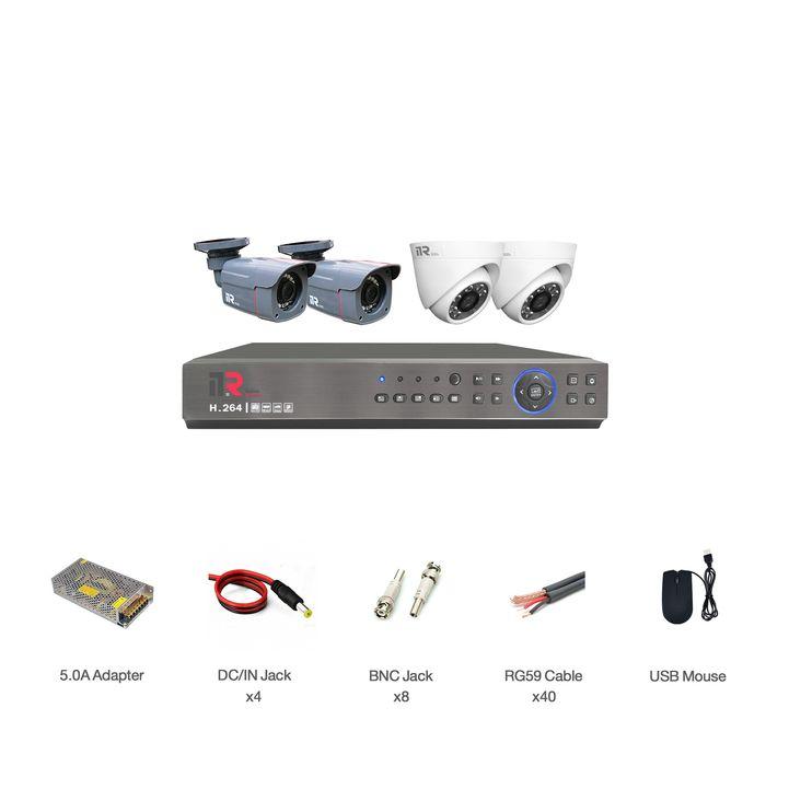 سیستم امنیتی آنالوگ آی تی آر مدل DK1_2R28_2D28_411 thumb 2 1