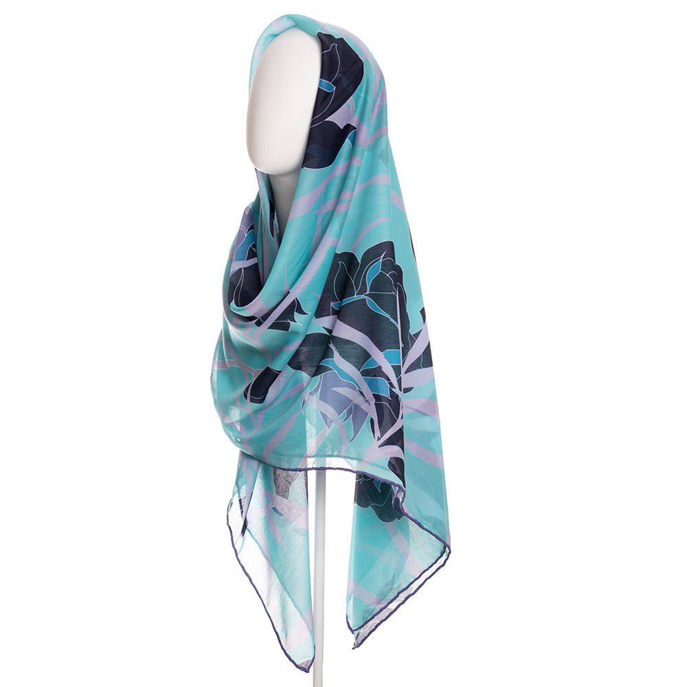 روسری زنانه نوولاشال کد 022484 -  - 2