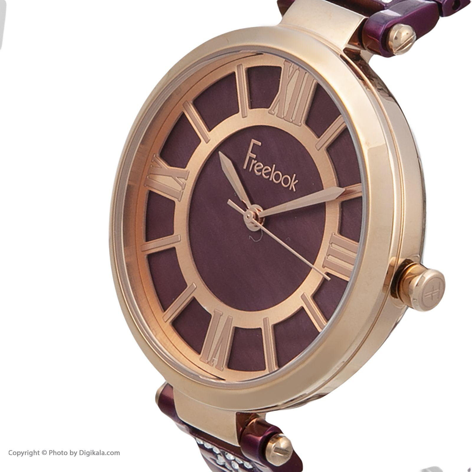 ساعت مچی عقربه ای زنانه فری لوک مدل F.8.1017.07 -  - 2