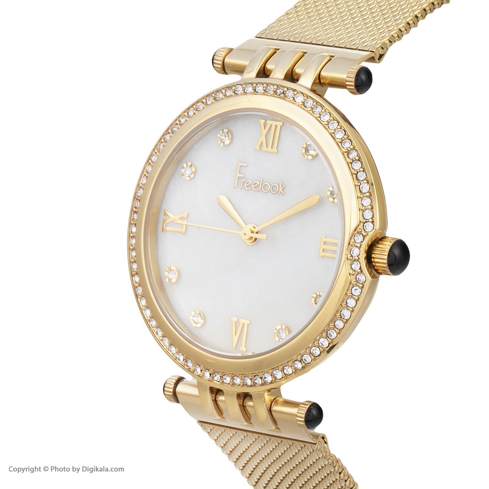 ساعت مچی عقربه ای زنانه فری لوک مدل F.7.1060.03 -  - 3