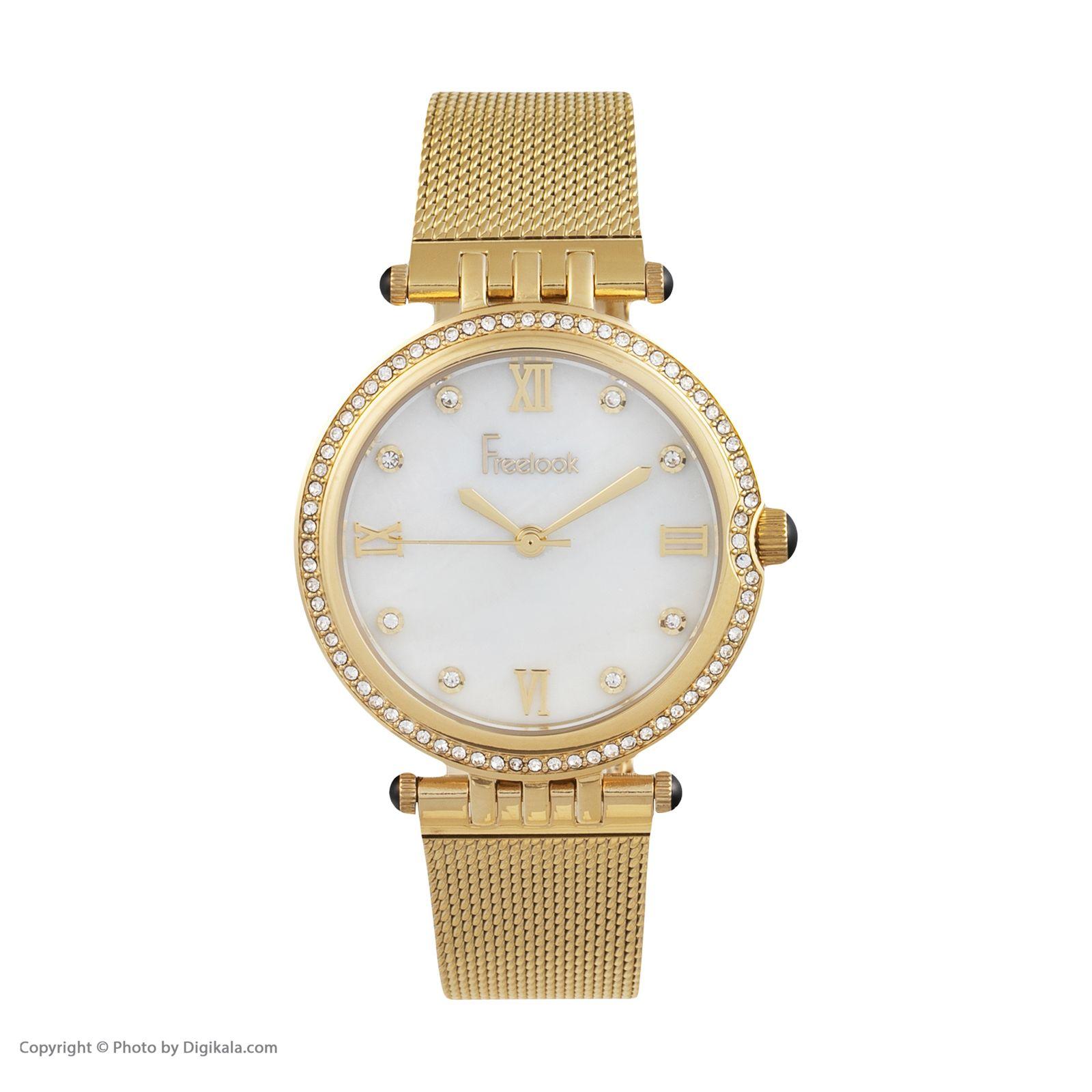 ساعت مچی عقربه ای زنانه فری لوک مدل F.7.1060.03 -  - 1