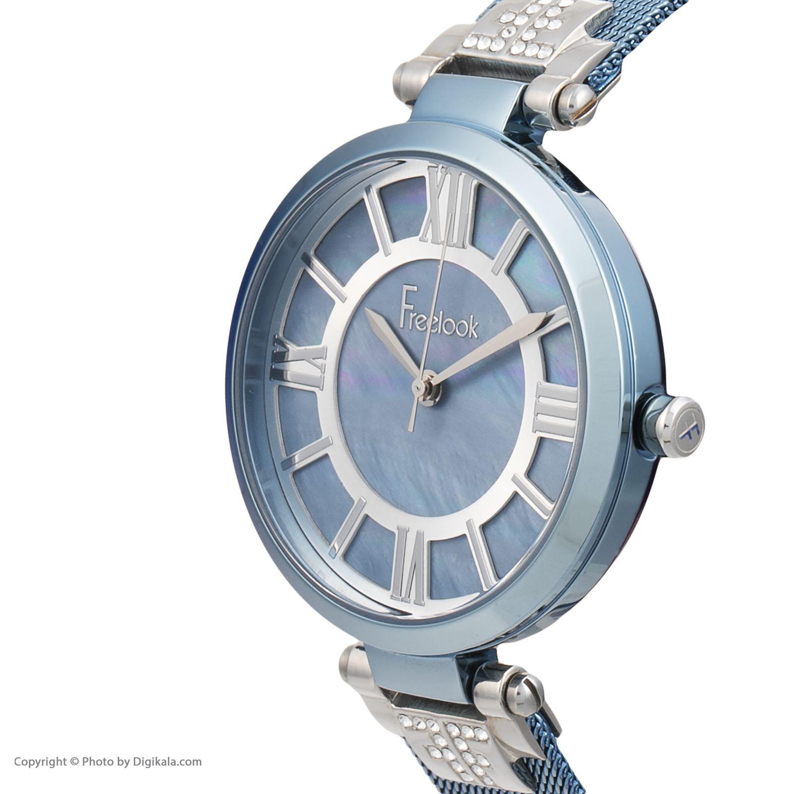 ساعت مچی عقربه ای زنانه فری لوک مدل F.8.1016.08 -  - 3