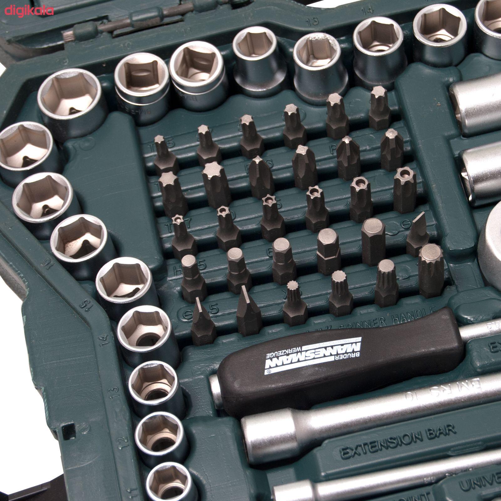 مجموعه 215 عددی آچار بکس و سری پیچ گوشتی ماموت مدل 90900035 main 1 9