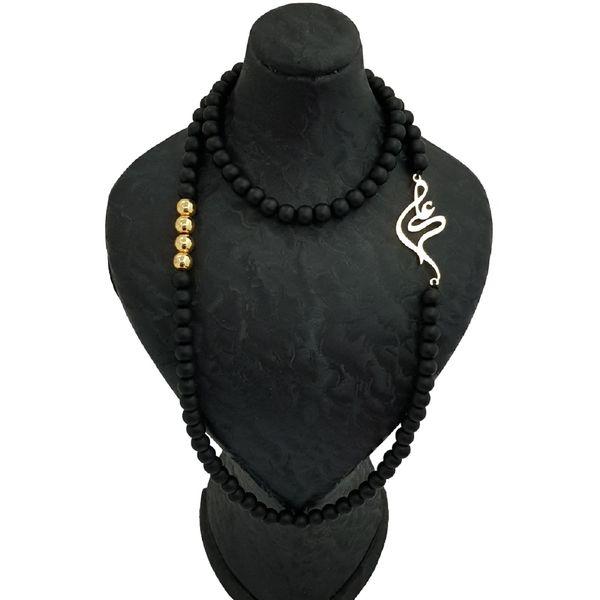 گردنبند زنانه طرح علی کد e466