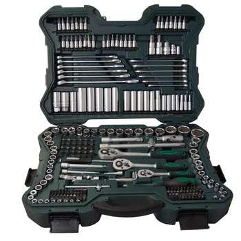 مجموعه 215 عددی آچار بکس و سری پیچ گوشتی ماموت مدل 90900035