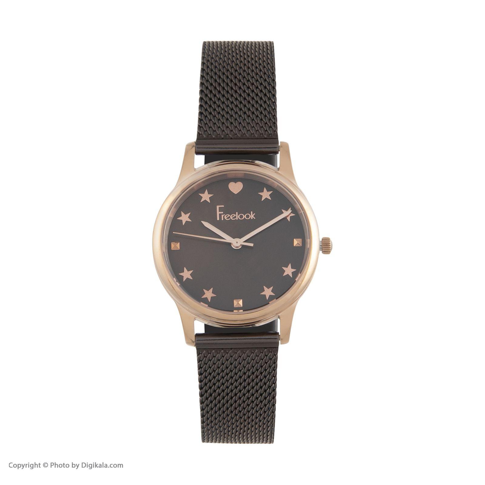 ساعت مچی عقربه ای زنانه فری لوک مدل F.8.1037.06 -  - 1
