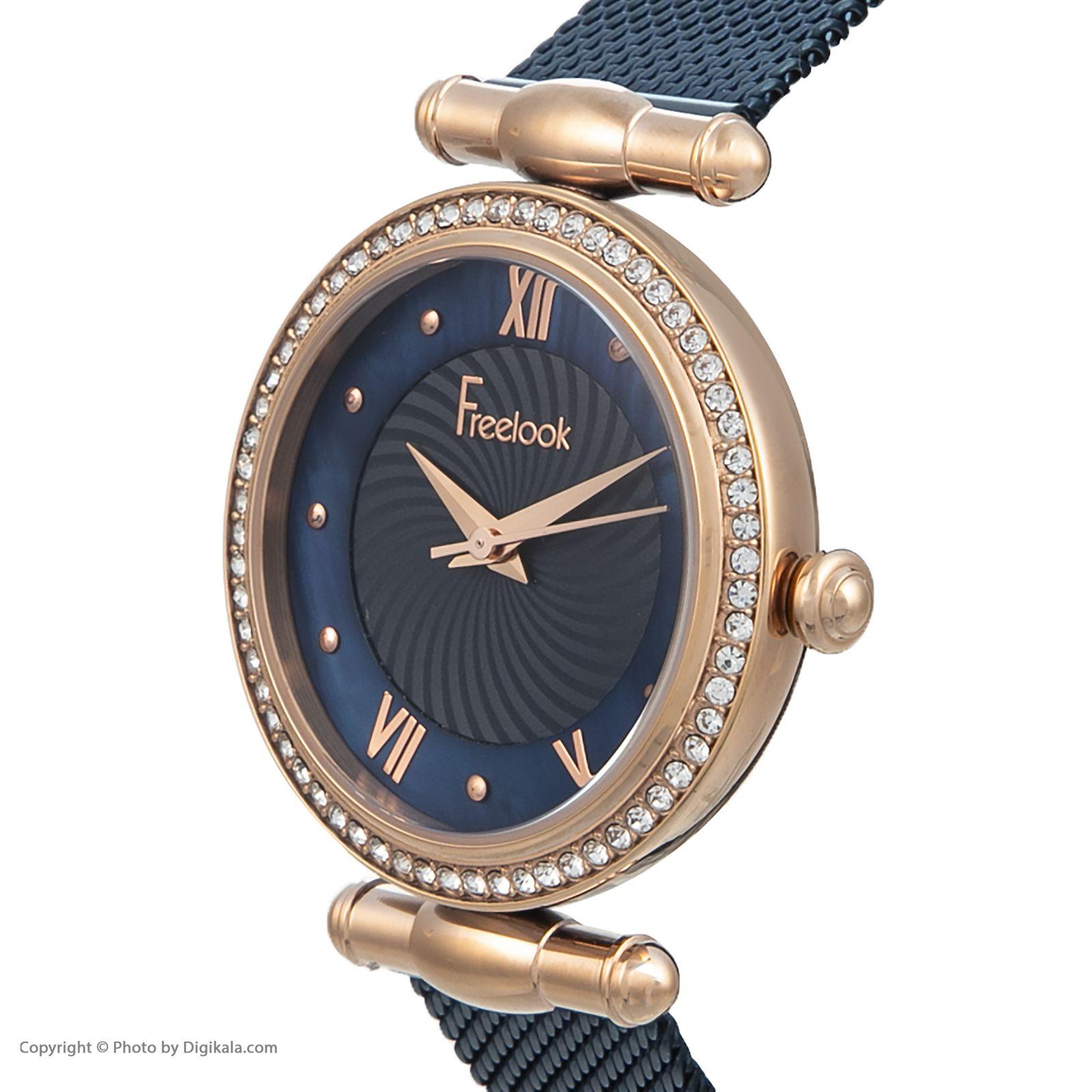 ساعت مچی عقربه ای زنانه فری لوک مدل F.8.1074.06 -  - 2