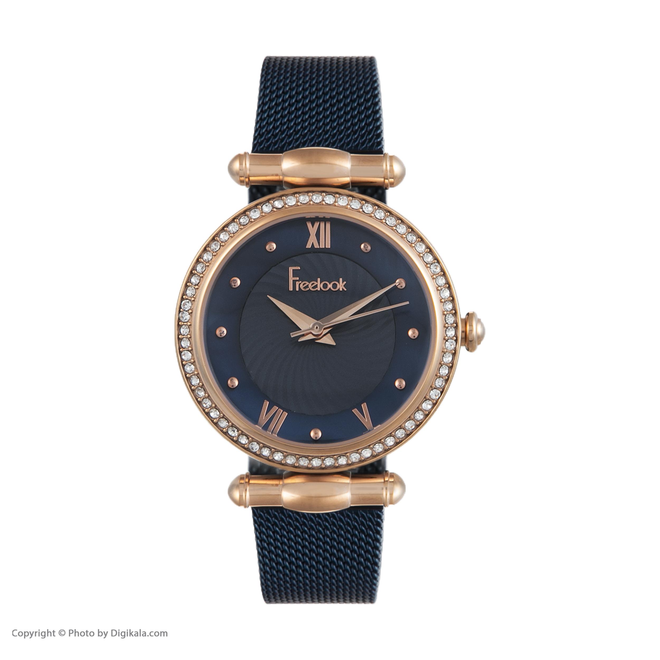 ساعت مچی عقربه ای زنانه فری لوک مدل F.8.1074.06 -  - 3