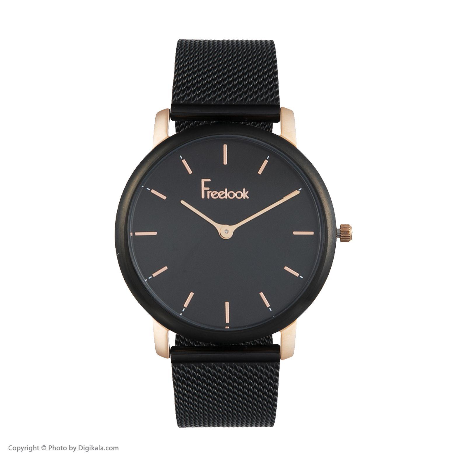ساعت مچی عقربه ای زنانه فری لوک مدل F.9.1009.04 -  - 1