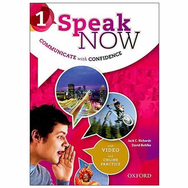 خرید                      کتاب SPEAK NOW 1 اثر David Bohlke and Jack C. Richards انتشارات oxford university press
