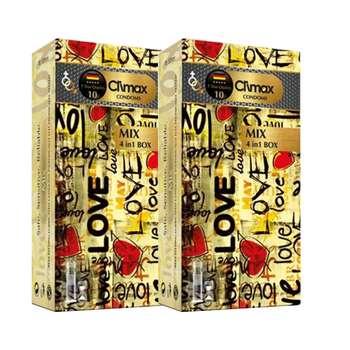 کاندوم کلایمکس مدل Mix 10 مجموعه 2 عددی