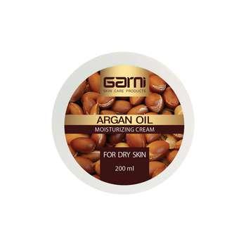 کرم مرطوب کننده گارنی مدل ARGAN OIL حجم 200 میلی لیتر