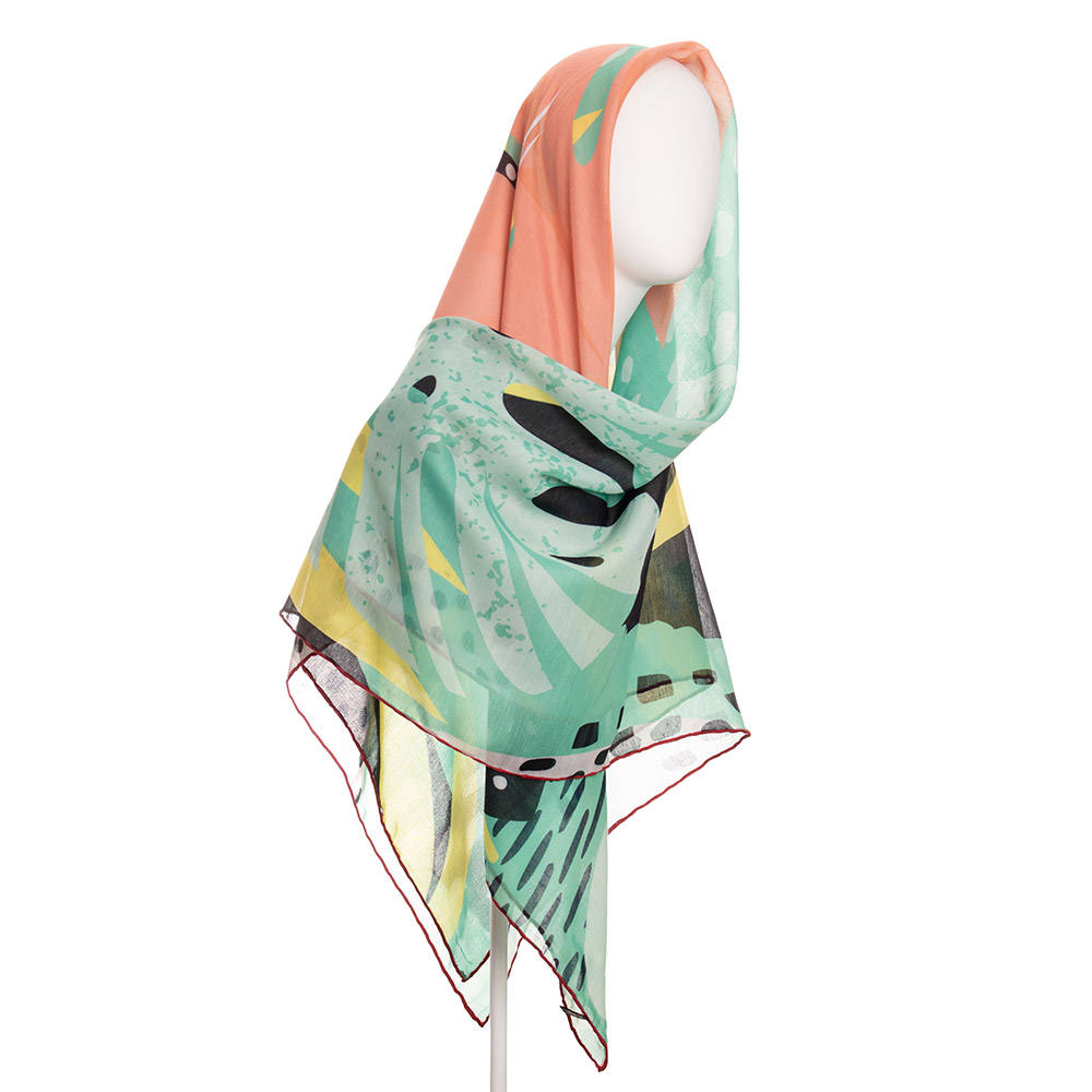 روسری زنانه نوولاشال کد 022492 -  - 3