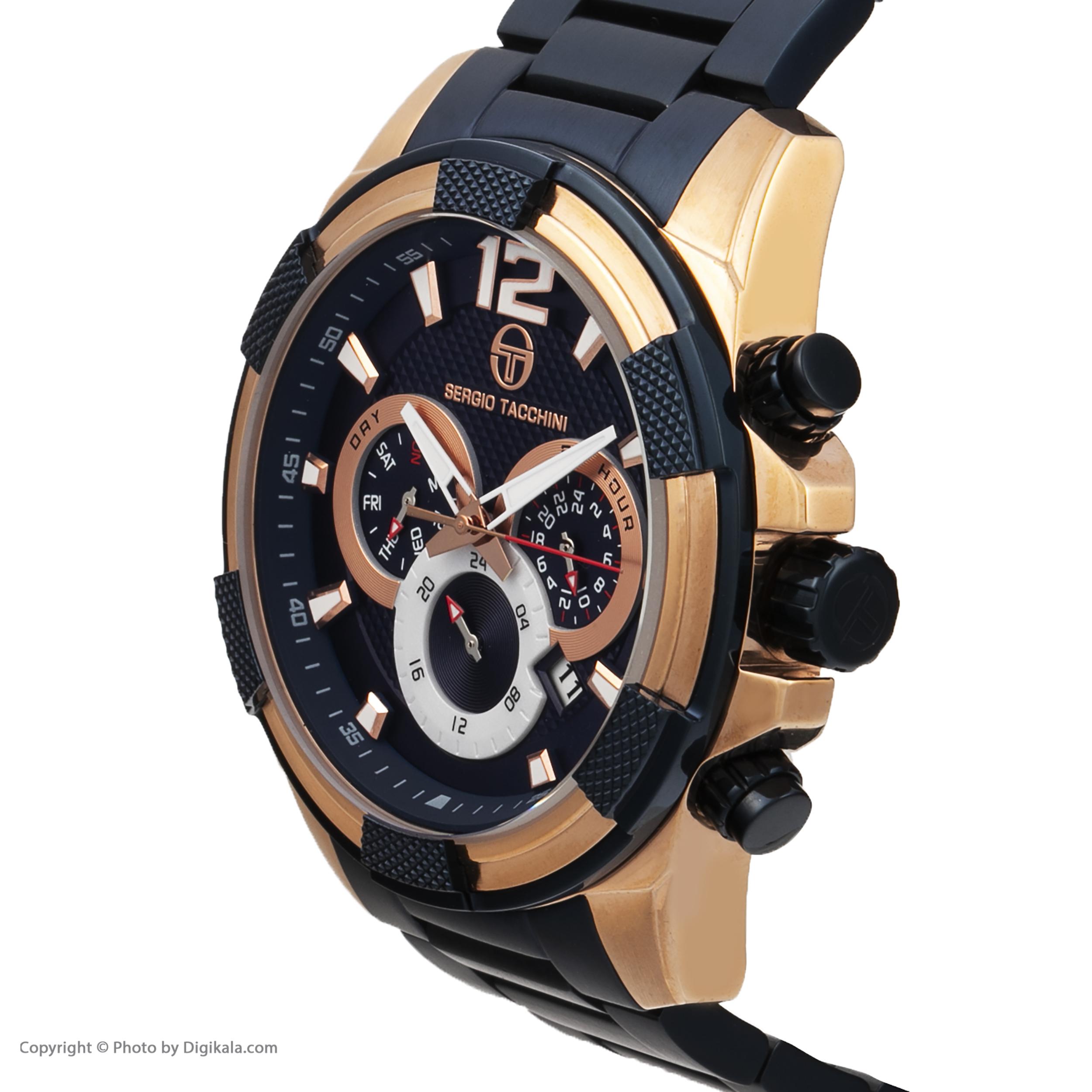 ساعت مچی عقربه ای مردانه سرجیو تاچینی مدل ST.5.170.05 -  - 3