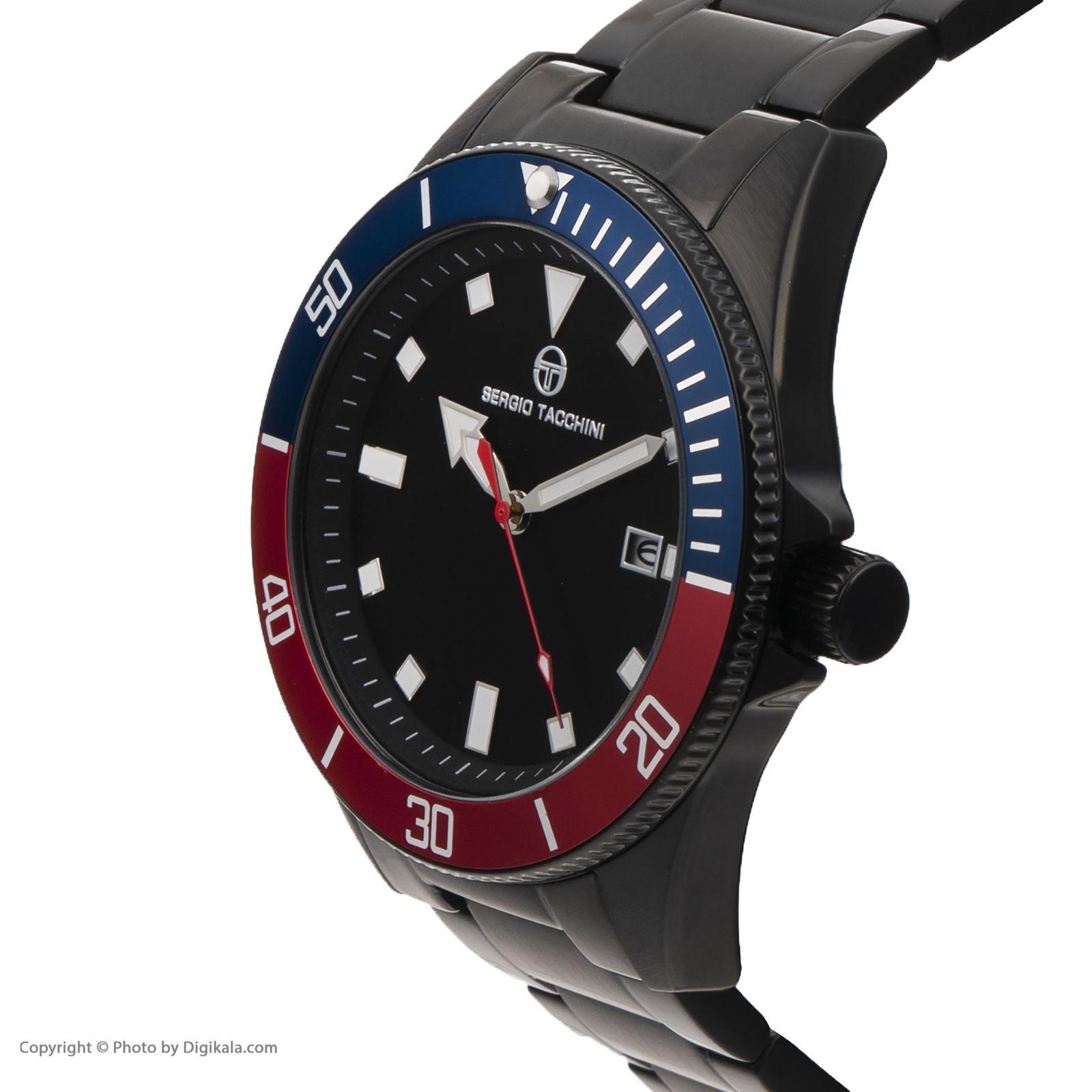 ساعت مچی عقربه ای مردانه سرجیو تاچینی مدل ST.8.132.03 -  - 3