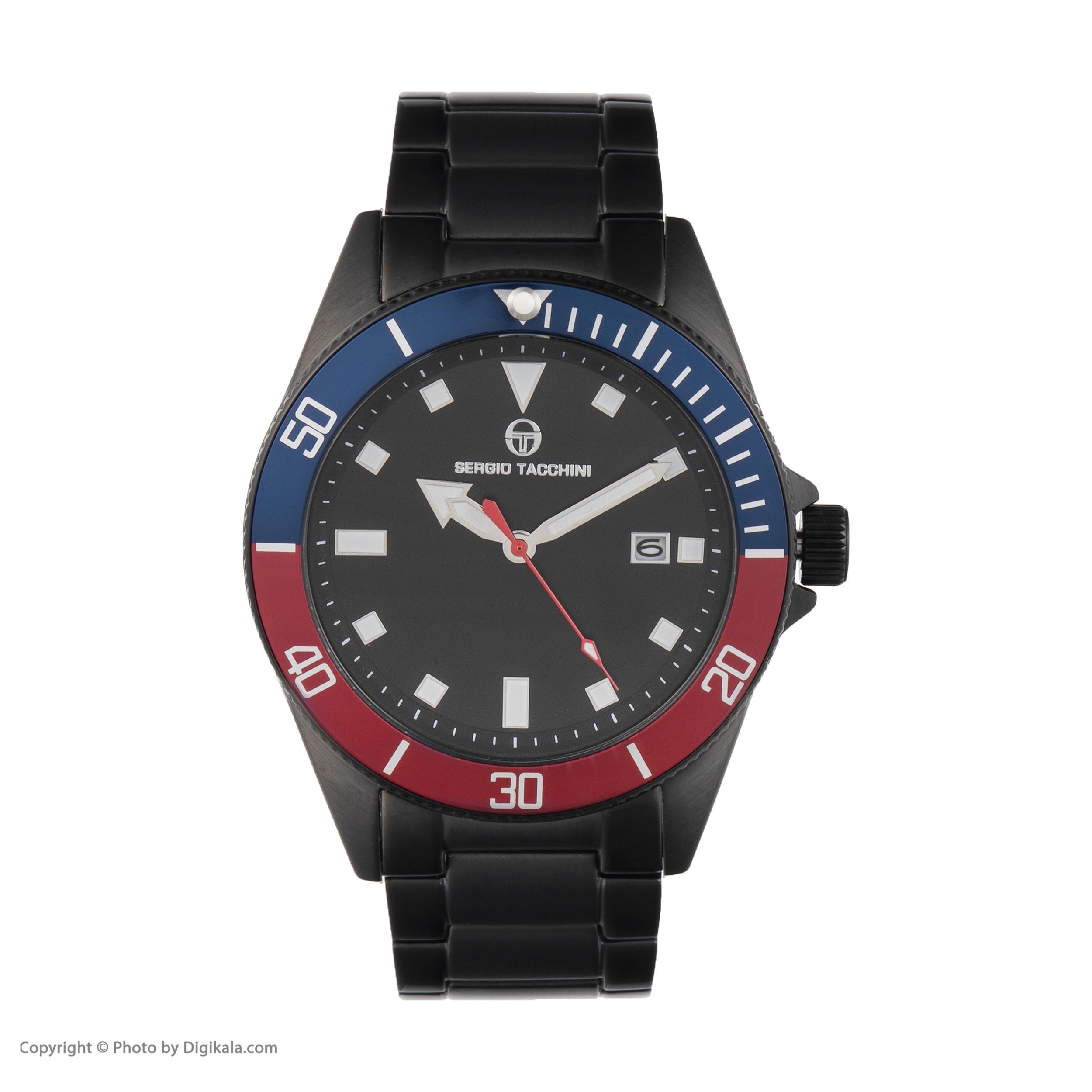 ساعت مچی عقربه ای مردانه سرجیو تاچینی مدل ST.8.132.03 -  - 4