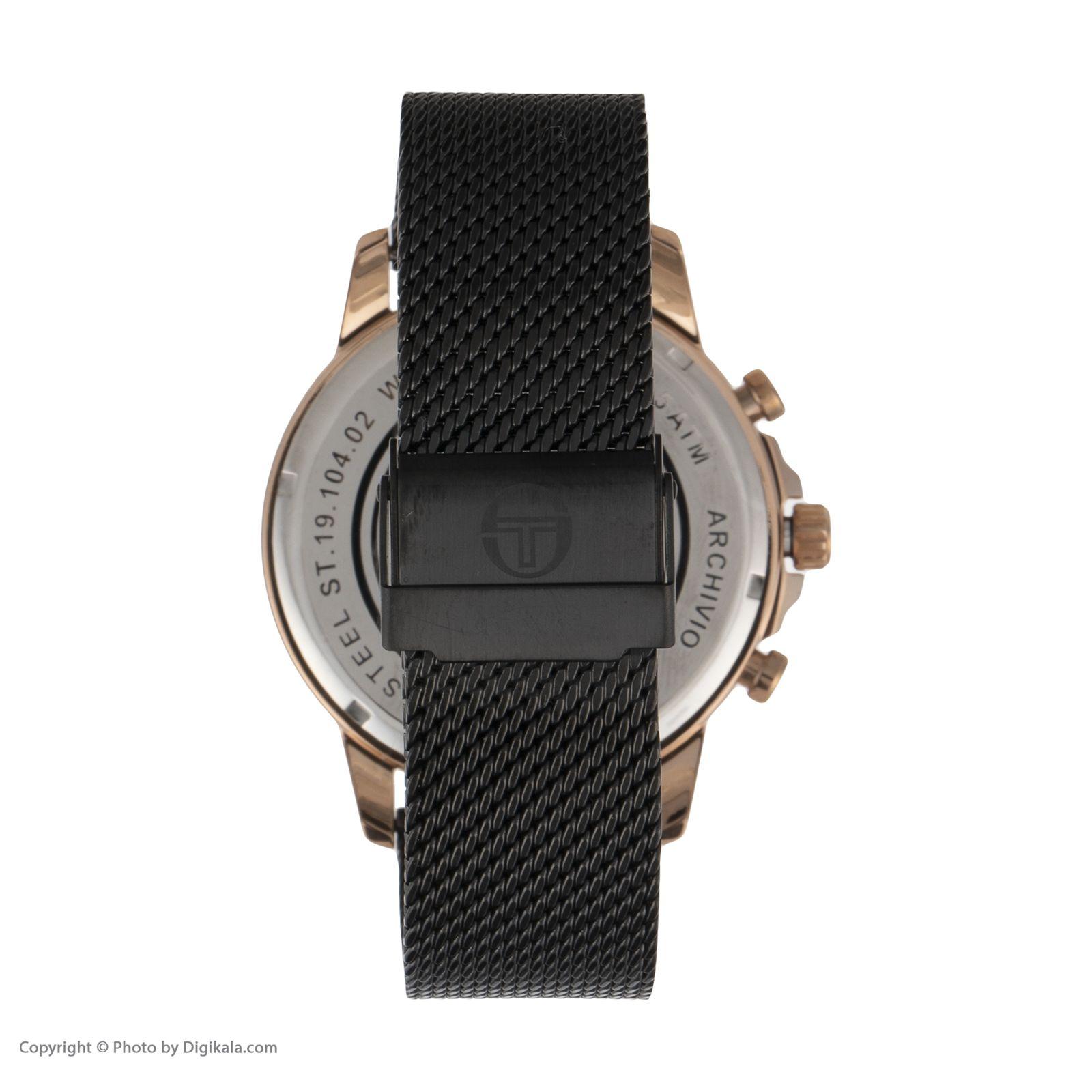 ساعت مچی عقربه ای مردانه سرجیو تاچینی مدل ST.19.104.02 -  - 2