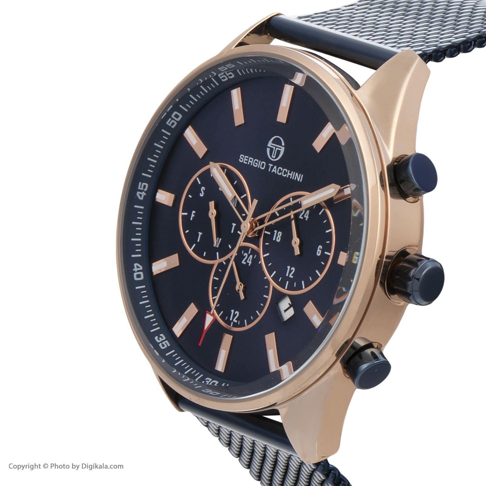 ساعت مچی عقربه ای مردانه سرجیو تاچینی مدل ST.8.131.01 -  - 3