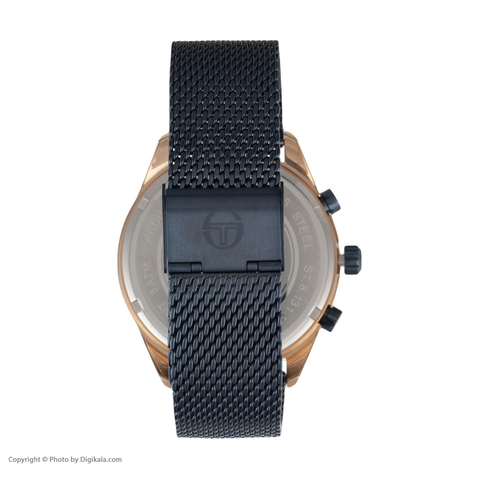 ساعت مچی عقربه ای مردانه سرجیو تاچینی مدل ST.8.131.01 -  - 2