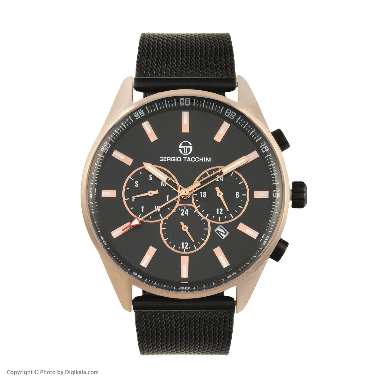 ساعت مچی عقربه ای مردانه سرجیو تاچینی مدل ST.8.131.03 -  - 1