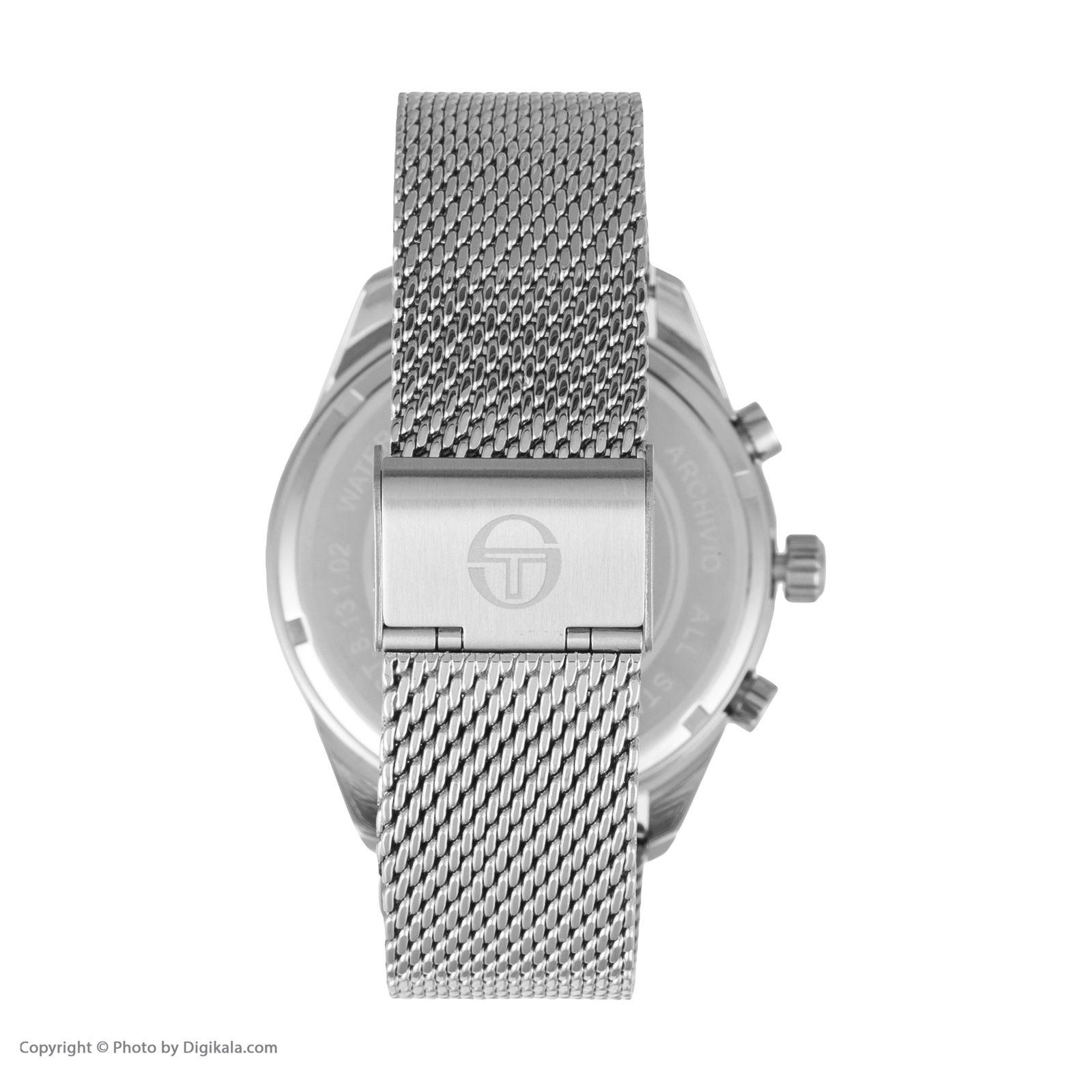 ساعت مچی عقربه ای مردانه سرجیو تاچینی مدل ST.8.131.02 -  - 2