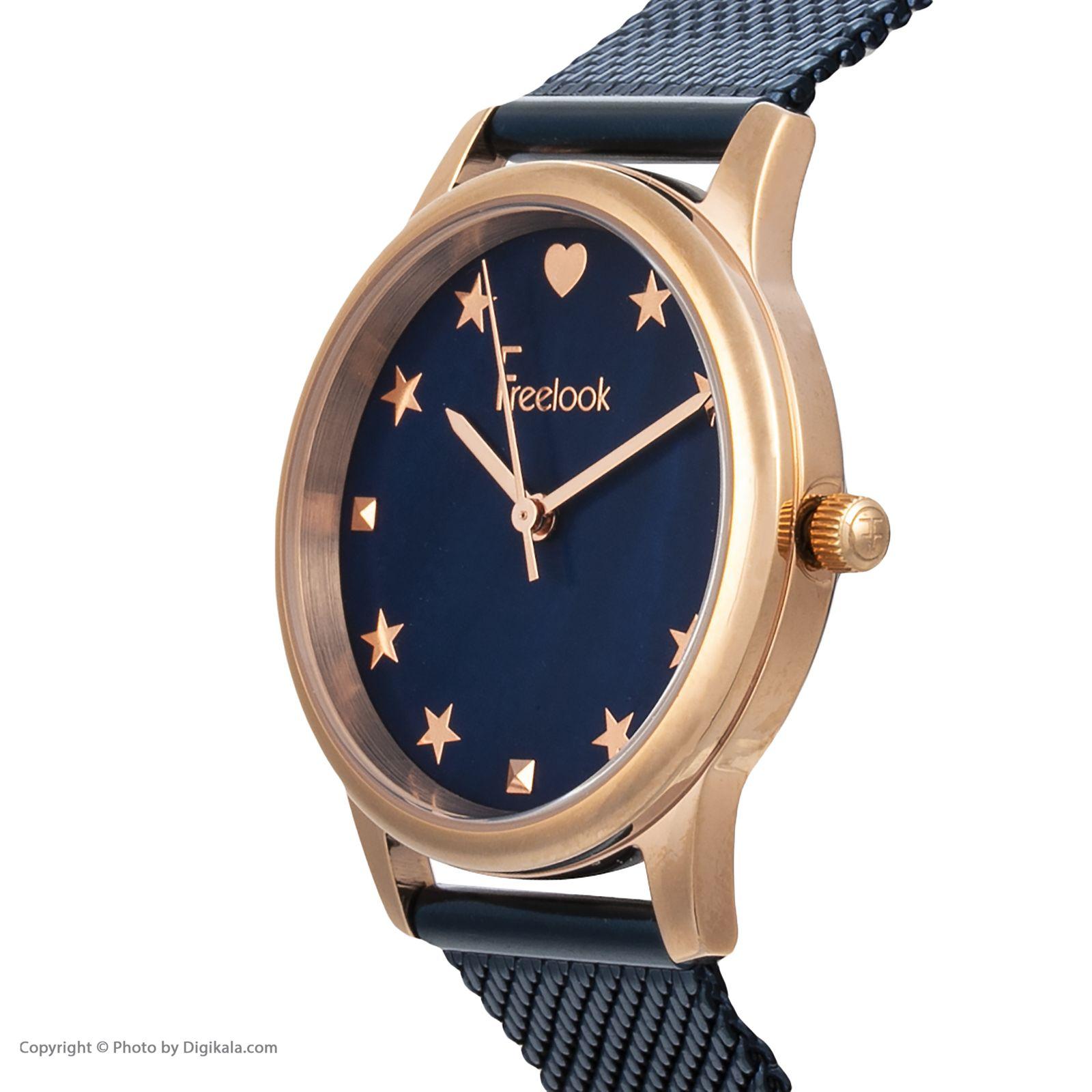 ساعت مچی عقربه ای زنانه فری لوک مدل F.8.1037.07 -  - 3