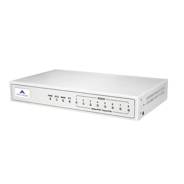 گیت وی VoIP نیوراک مدل MX8G-8S