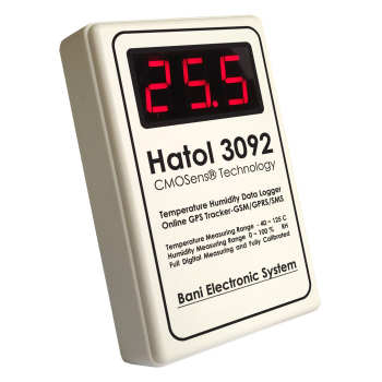 دیتالاگر دما و رطوبت هاتول مدل 3092