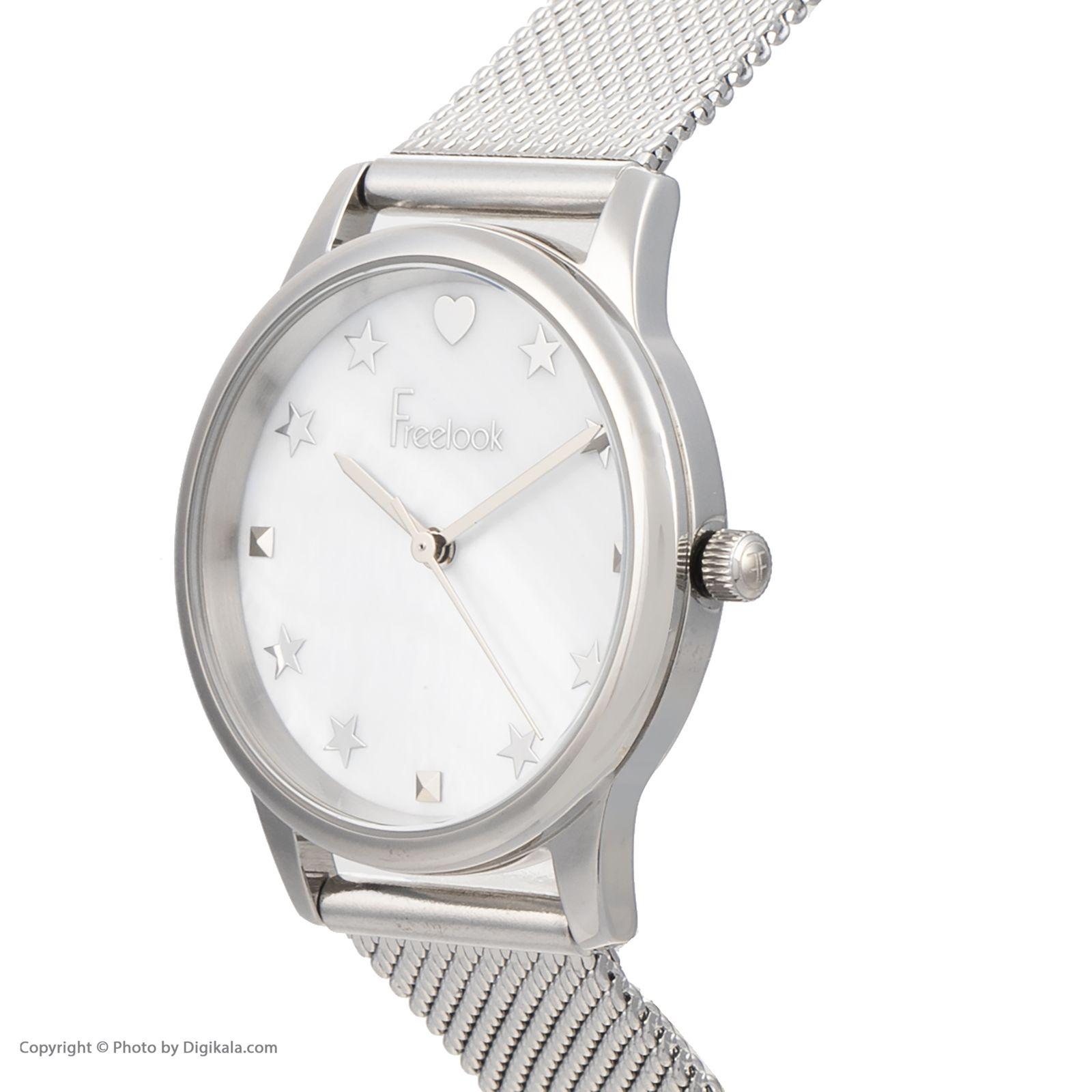 ساعت مچی عقربه ای زنانه فری لوک مدل F.8.1037.01 -  - 3