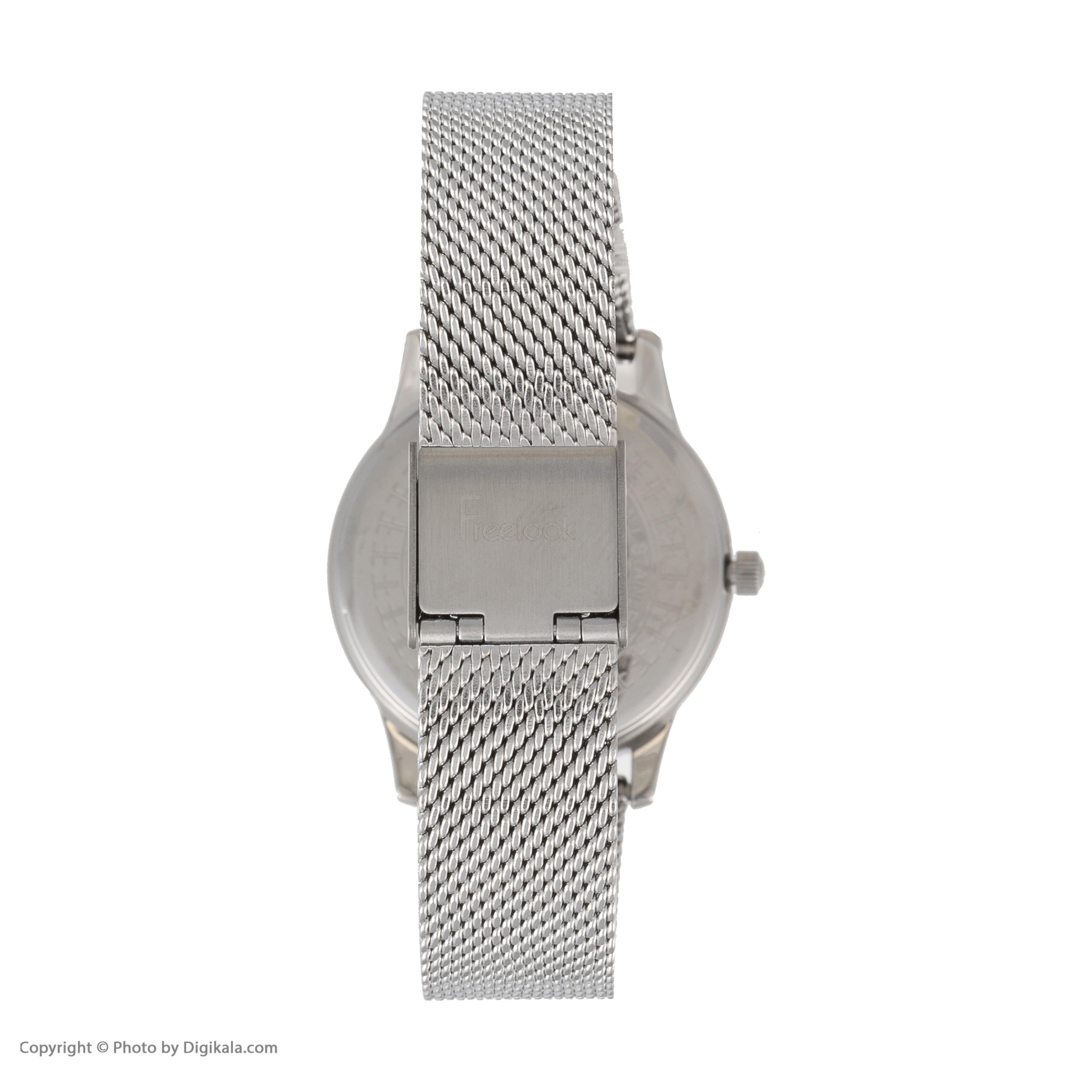 ساعت مچی عقربه ای زنانه فری لوک مدل F.8.1037.01 -  - 2