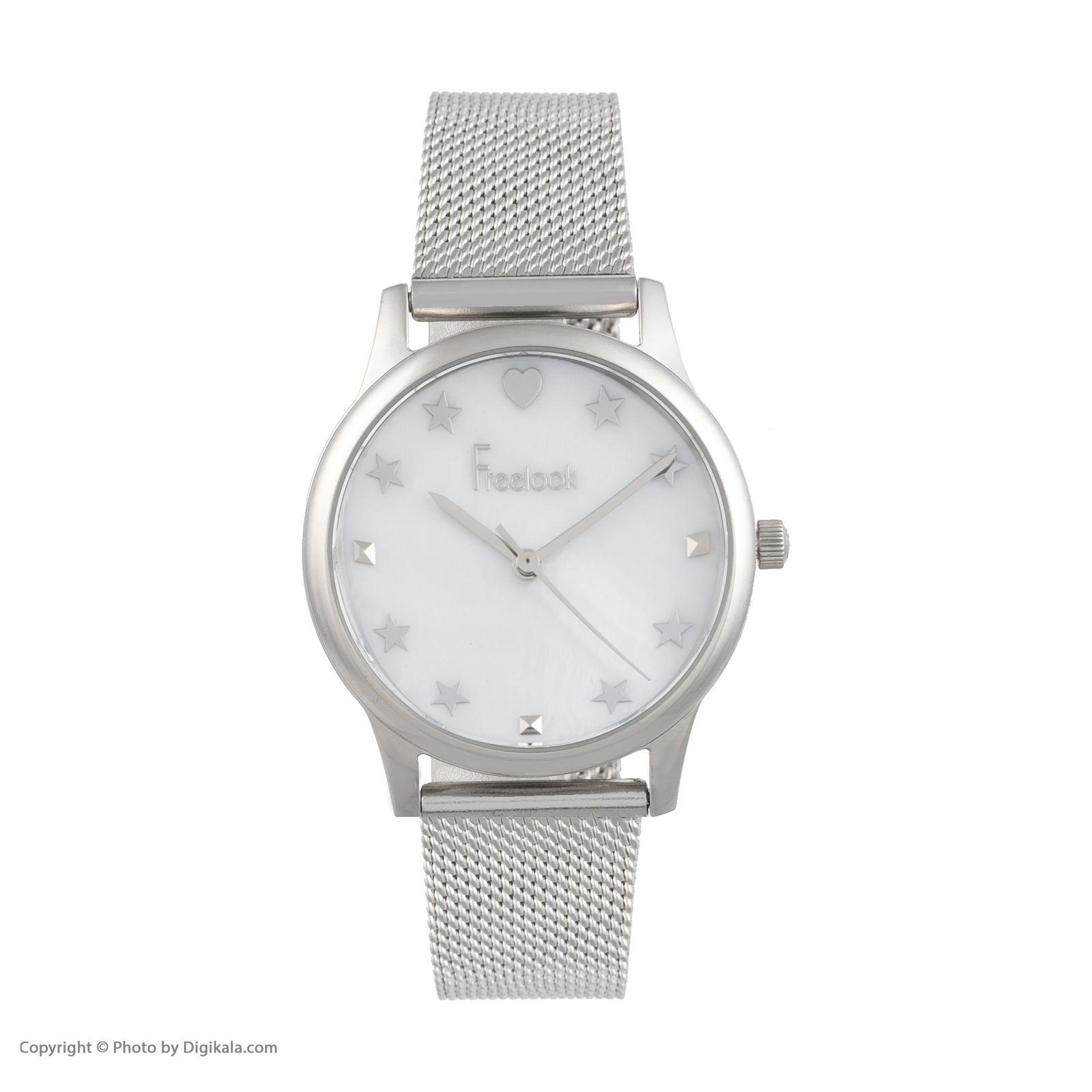 ساعت مچی عقربه ای زنانه فری لوک مدل F.8.1037.01 -  - 1