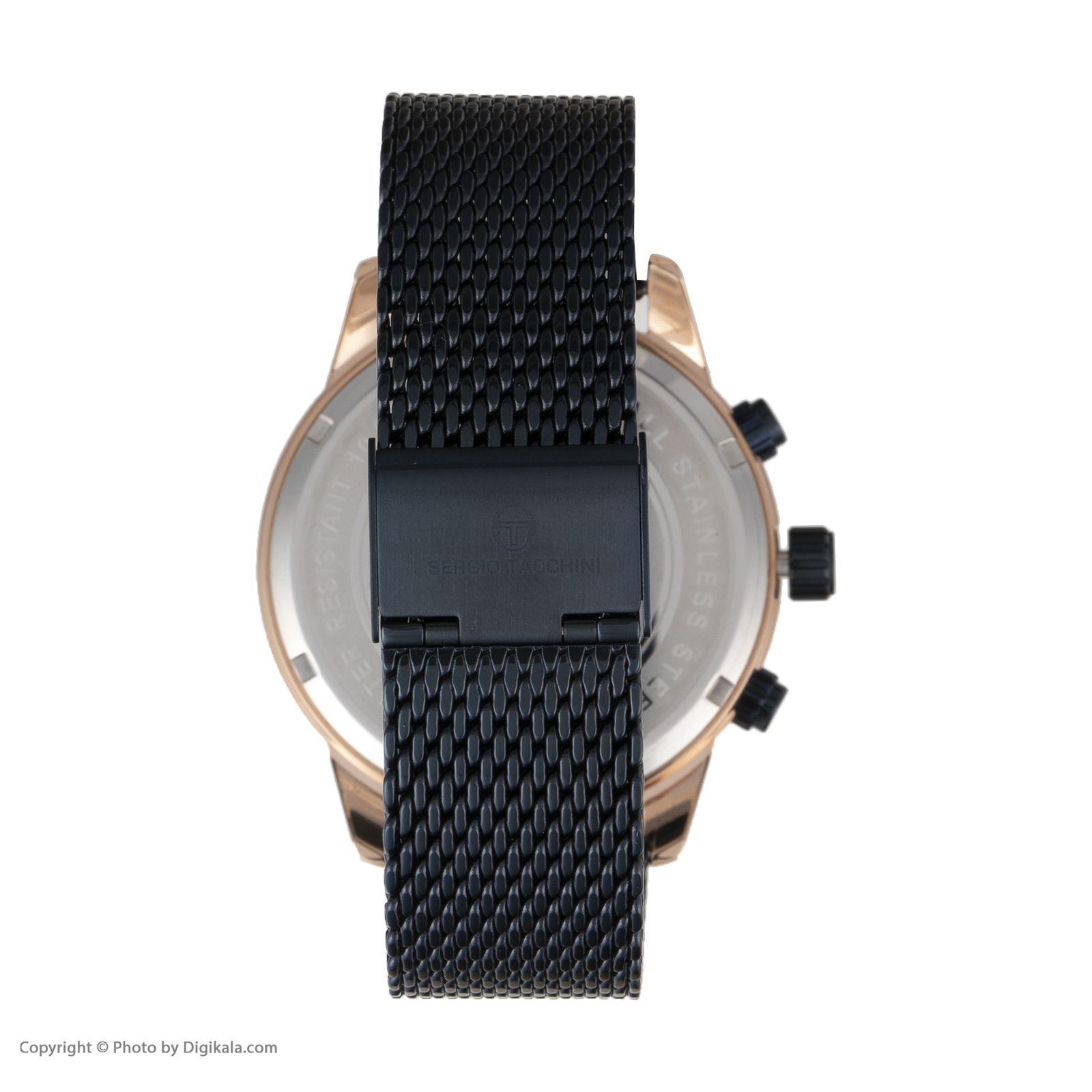 ساعت مچی عقربه ای مردانه سرجیو تاچینی مدل ST.5.172.03 -  - 2