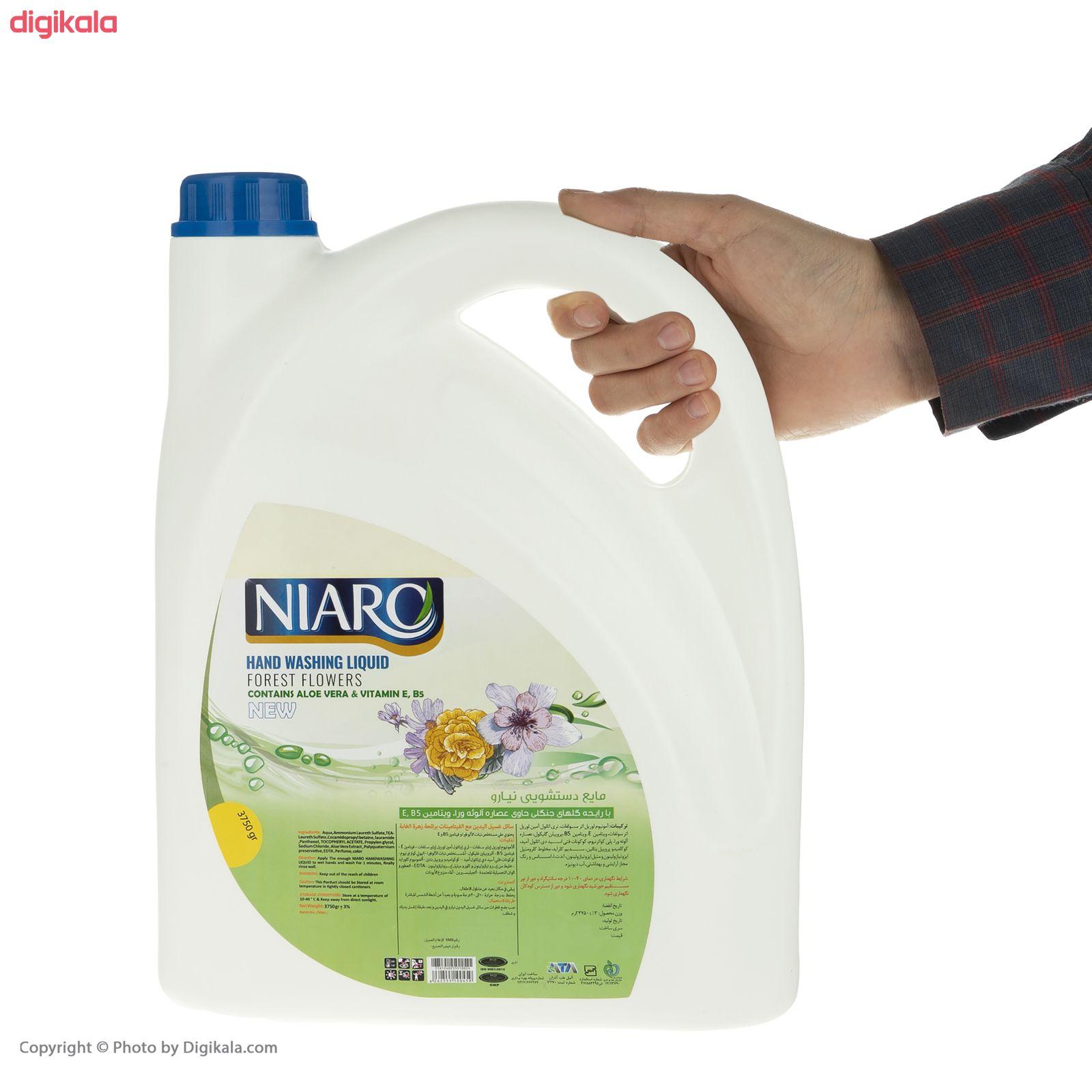 مایع دستشویی نیارو مدل گلهای جنگلی حجم 3750 گرم main 1 3