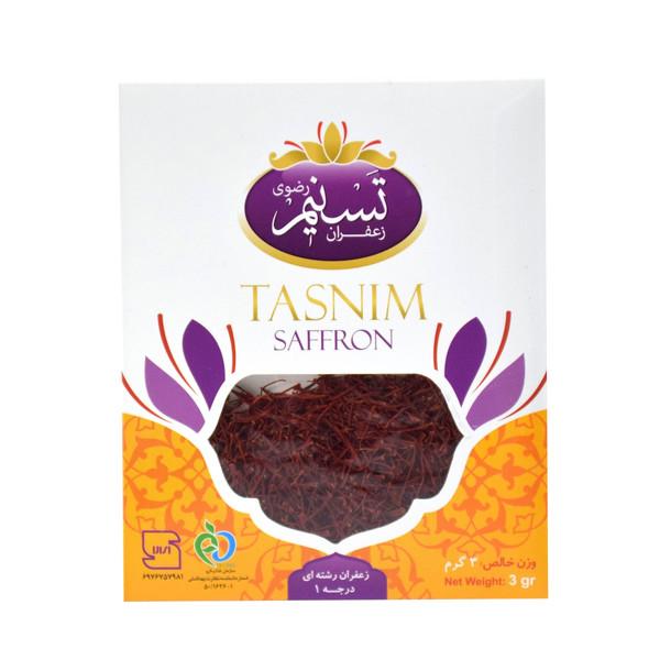 زعفران سرگل تسنیم - 3 گرم