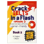 کتاب crack ielts in a flash speaking 2 اثر M.S. Bagheri and S.Nikpour انتشارات ایده درخشان