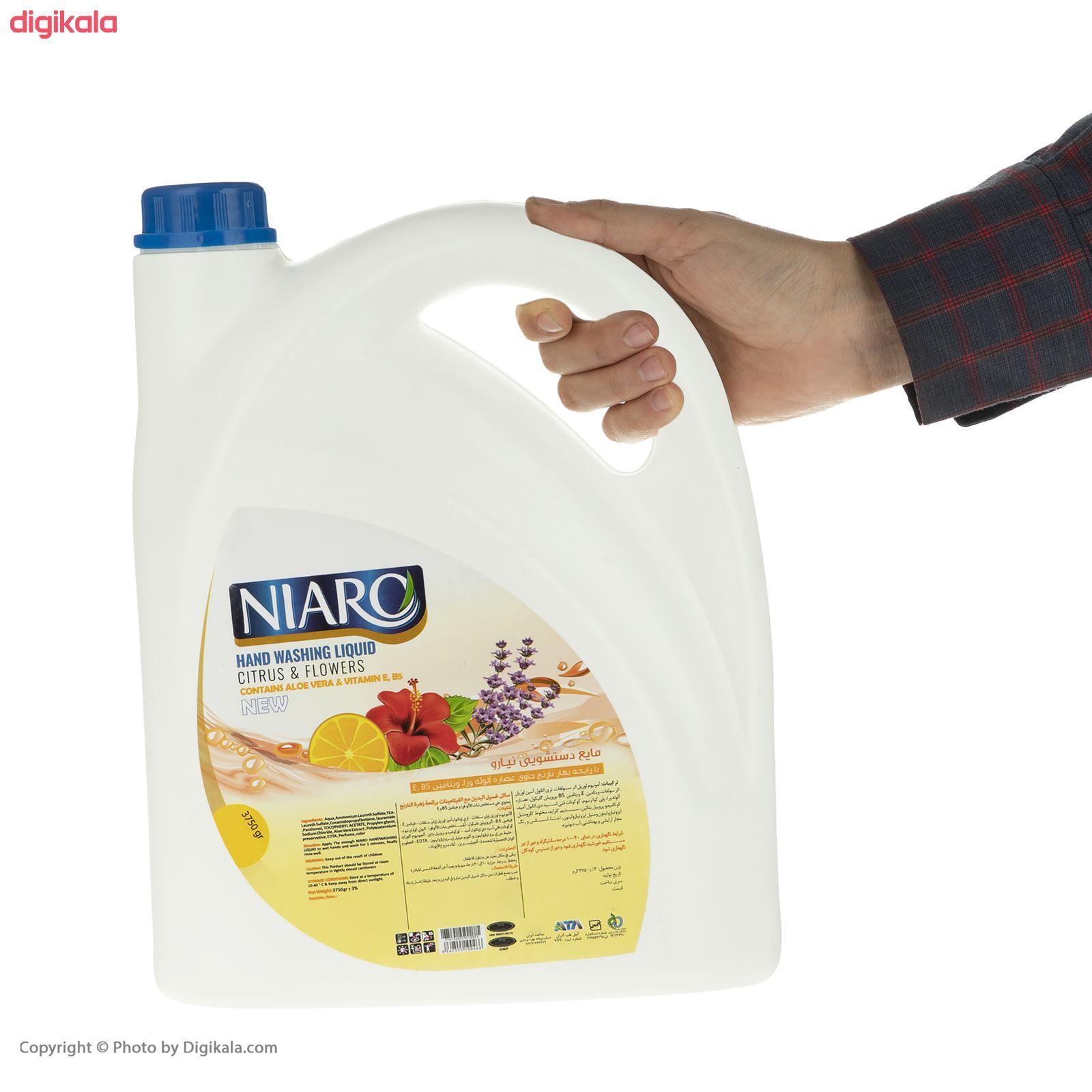 مایع دستشویی نیارو مدل بهارنارنج حجم 3750 گرم main 1 2